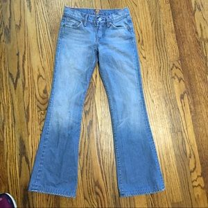7 for all mankind jeans flare boots cut size 25